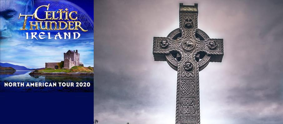 Celtic Thunder at Community Theatre