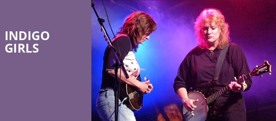 Indigo Girls, Community Theatre, Morristown
