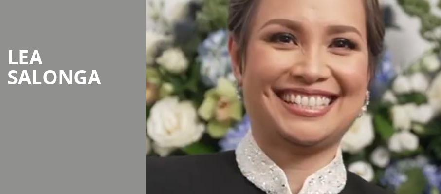 Lea Salonga, Community Theatre, Morristown