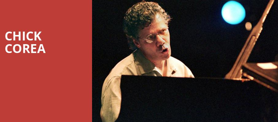 Chick Corea, Community Theatre, Morristown