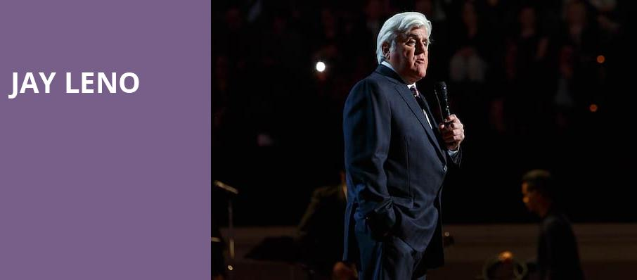 Jay Leno, Community Theatre, Morristown
