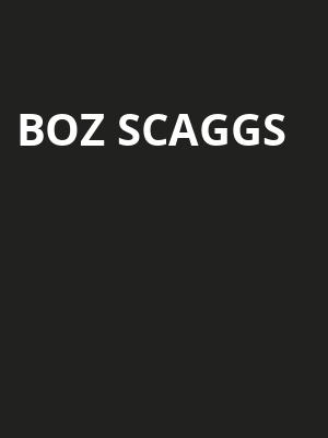 Boz Scaggs, Community Theatre, Morristown