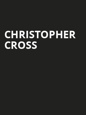 Christopher Cross, Community Theatre, Morristown