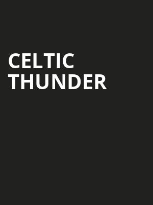 Celtic Thunder, Community Theatre, Morristown